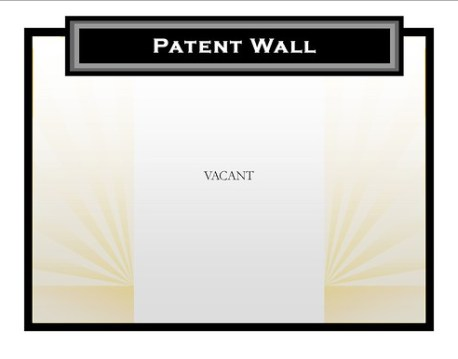 dusty patent wall