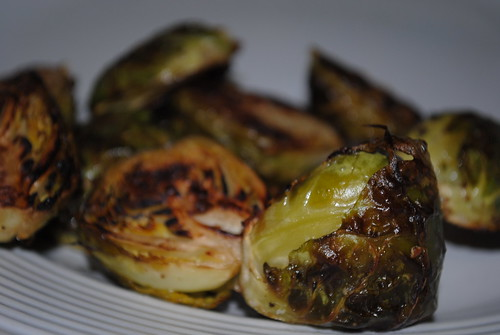 [26/365] Roasted Brussels Sprouts