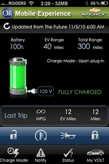 Chevy Volt iPhone app