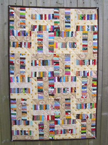 Chinse Coin quilt made by hardhatcat