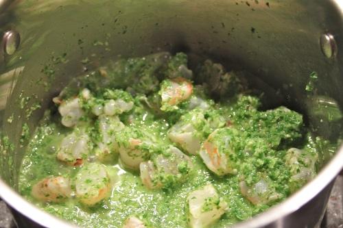 sauce-making