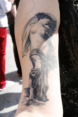 Tattooed Girl · Classic Female Nude Tattoo