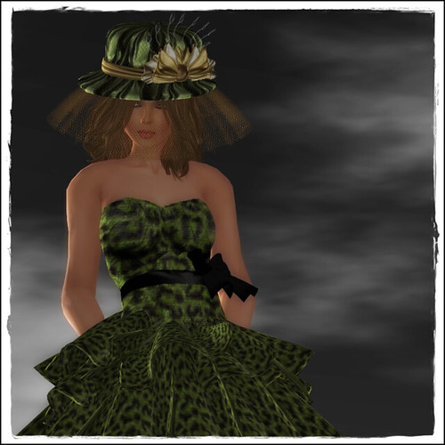 Hatpins - Lady Monica Hat
