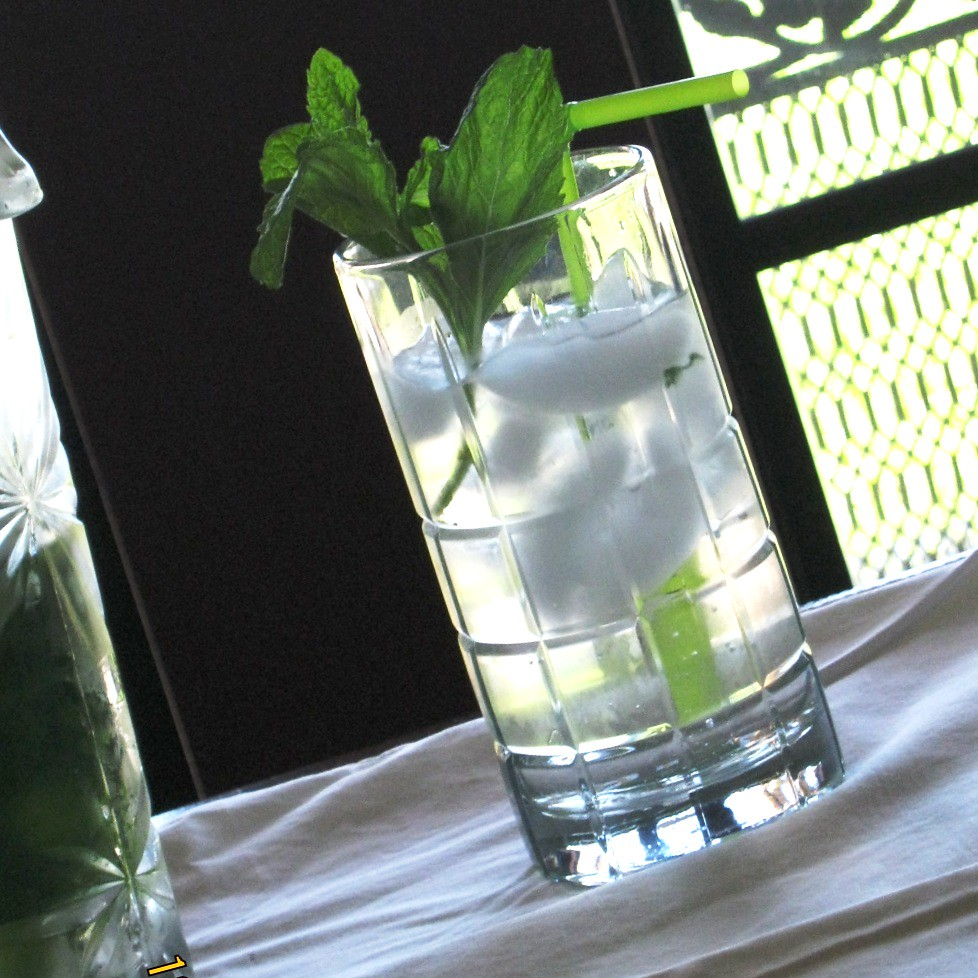 Mint Infused Water