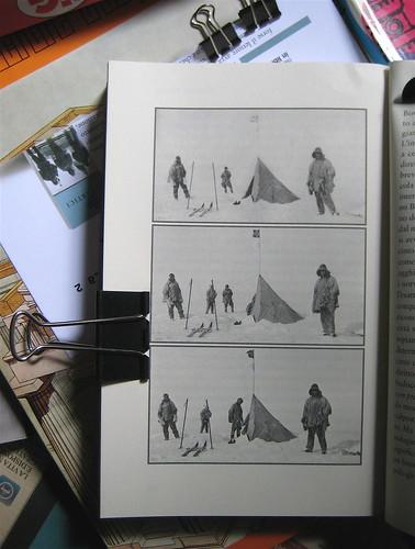 Robert F. Scott, Ernest Shackleton, Edward A. Wilson, Diari Antatrtici, art director Ada Carpi, Nutrimenti 2010; p. 364 (part.), 1
