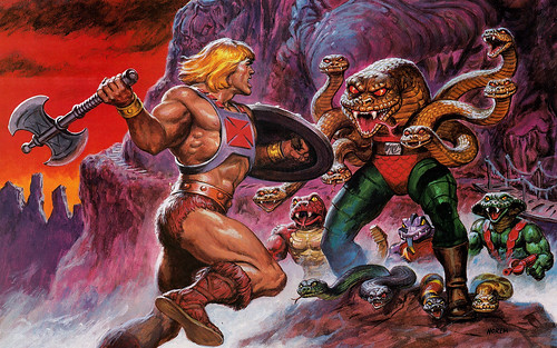 He-Man vs King Hisss
