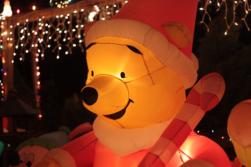 winnie the pooh at christmas
