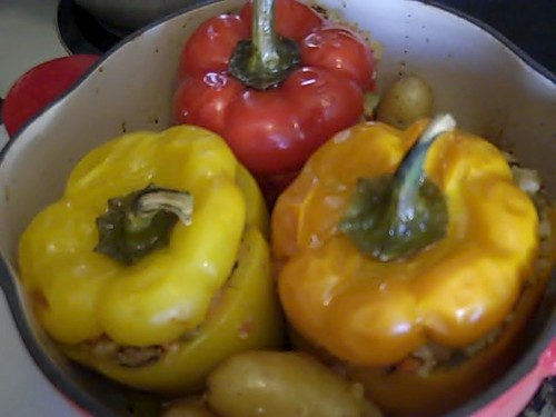 finished peppers