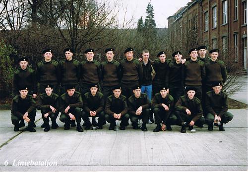 Het zesde liniebataljon van cdt. Bauwin, Kapellen 1990