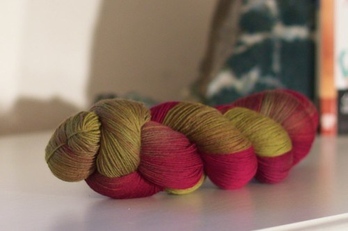 Wollmeise: prize from the Loopy Ewe