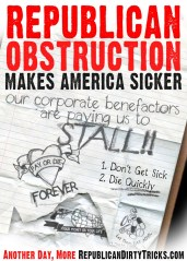 Republican Obstruction Makes America Sicker Image
