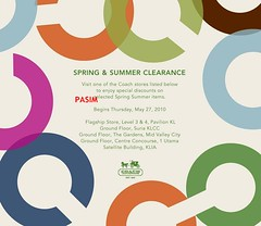 Coach Spring & Summer Clearance