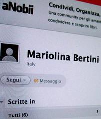 (Mariolina Bertini / Facebook), 1