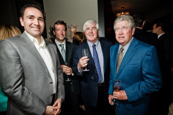 Ali Rowghani, John Ridding, Ron Conway, Don Valentine