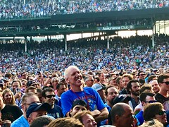 Bill Walton at Dead & Company at Wrigley Field, June 30, 2017