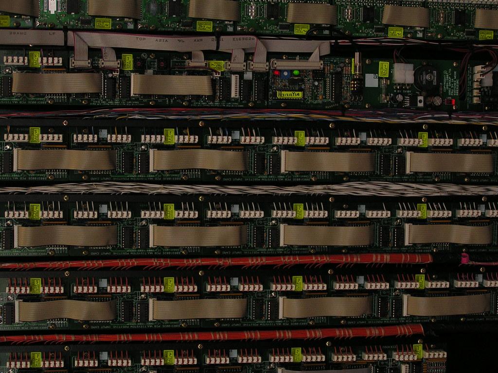 Console circuitry, Austin Organs