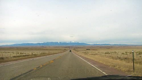 Driving towards the peak