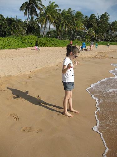 Sym's First Hawaiian Beach