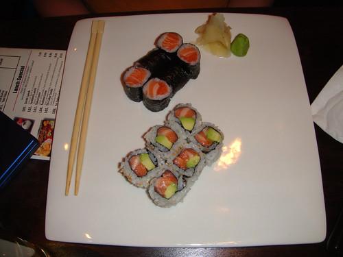 Kumo - Salmon Roll and Alaska Roll