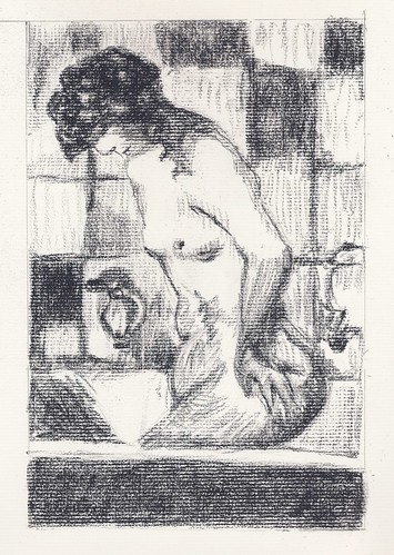 Pierre Bonnard MS: Woman Bathing 1934