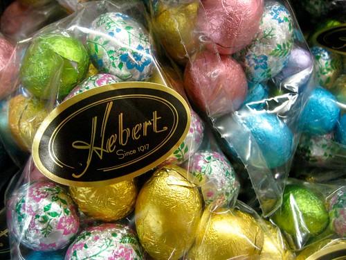 Hebert Chocolate Easter Eggs