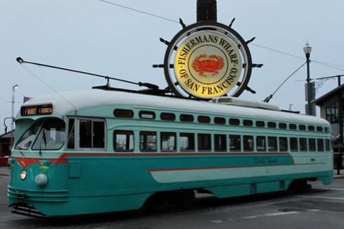 Antique Electric Bus/Train