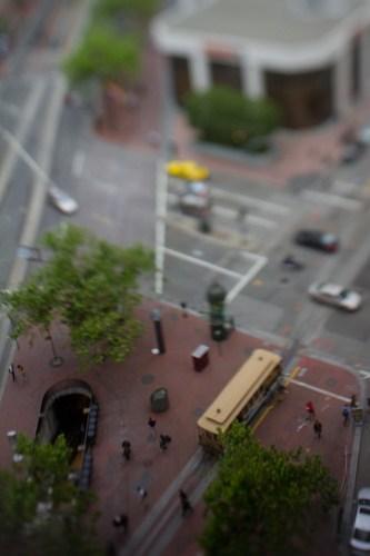 cable car miniature