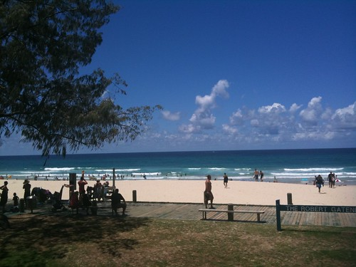 Lunch at Kurrawa Surf Club