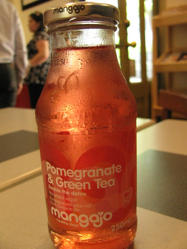 Pomegranate and Green Tea Drink