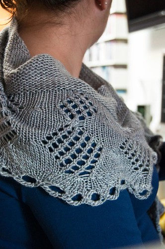Theory Shawlette - FINISHED