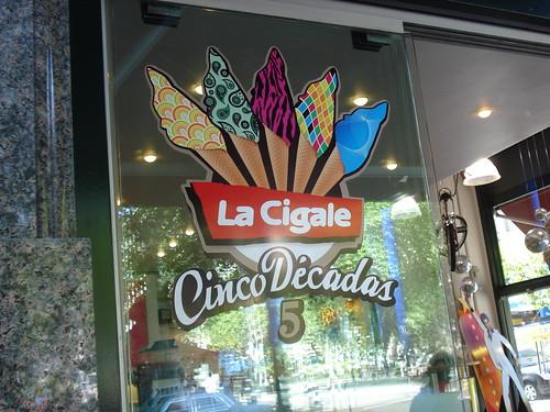 Tradicional sorveteria uruguaia