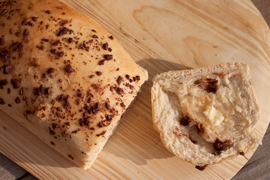 Chocolate Chip Swirl Bread