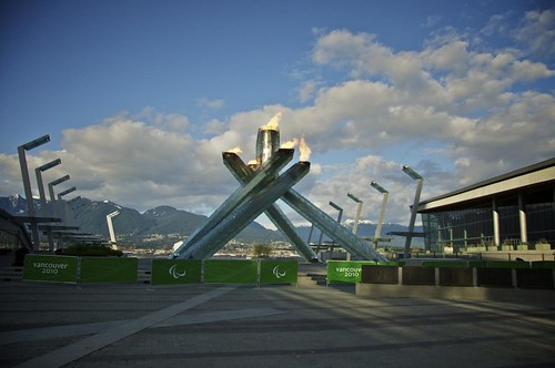Vancouver 2010: Paralympic Cauldron Photowalk