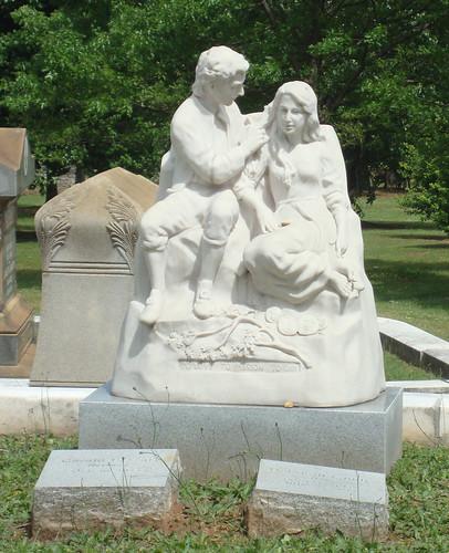 Statue Monument, Oakland Cemetery, Atlanta GA