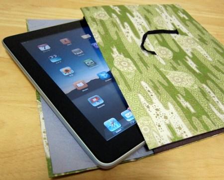 越前和紙のiPadケース