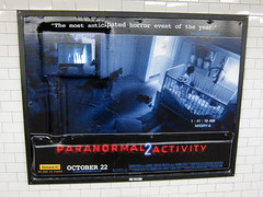 Paranormal Activity 2 Billboard With Embedded ...