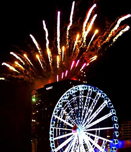 New Year Fireworks Birmingham