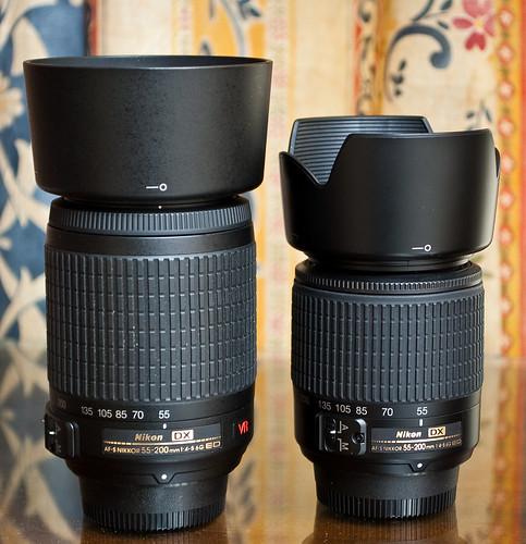Nikon AF-S 55-200 VR vs. Nikon AF-S 55-200