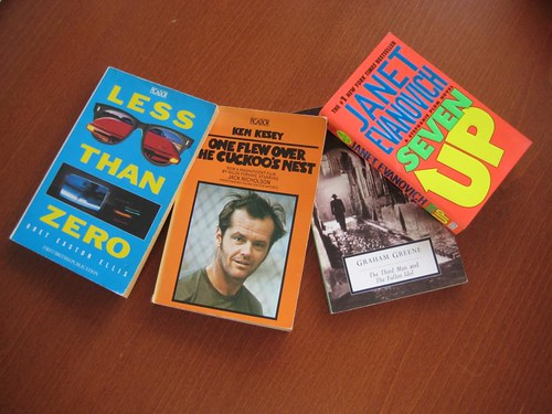 Some books from the Numbers 0-9 challenge