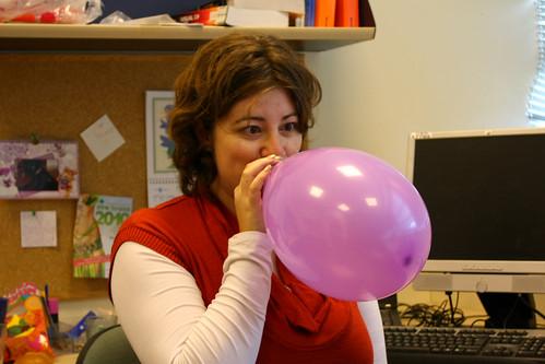 Masha with Balloon