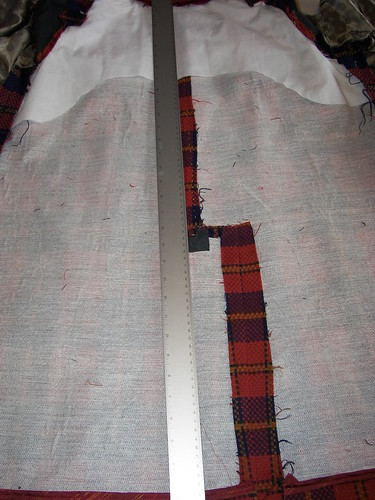 Usual Fold for Lining