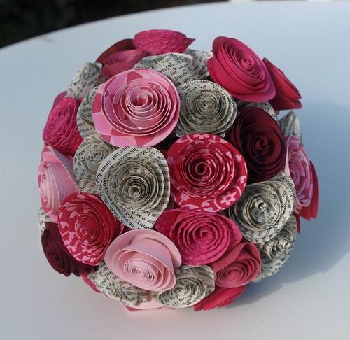Paper Flower Bouquets. 3 Bouquet