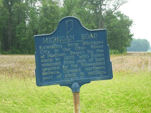 US 50 at the Michigan Road