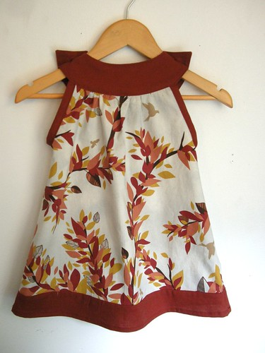 Branches Dress Back