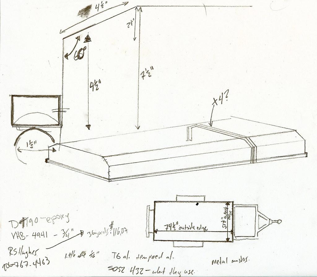 Wompser S M416 Trailer Build