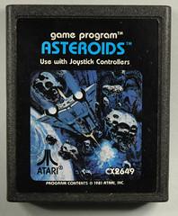 Atari 2600 - Atari - Asteroids