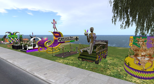 Mardi Gras Parade in Fat Tuesday, a New Orleans-styled sim