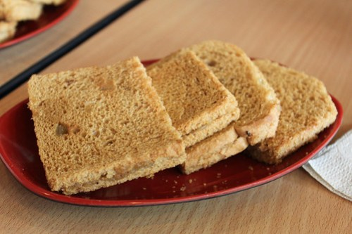 Peanut Butter Toast at Ya Kun Kaya Toast