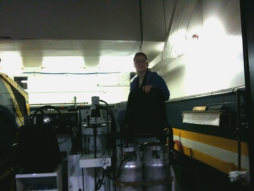 On the Zamboni!