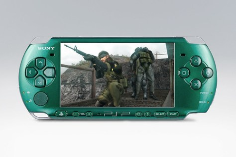 Metal Gear PSP Front